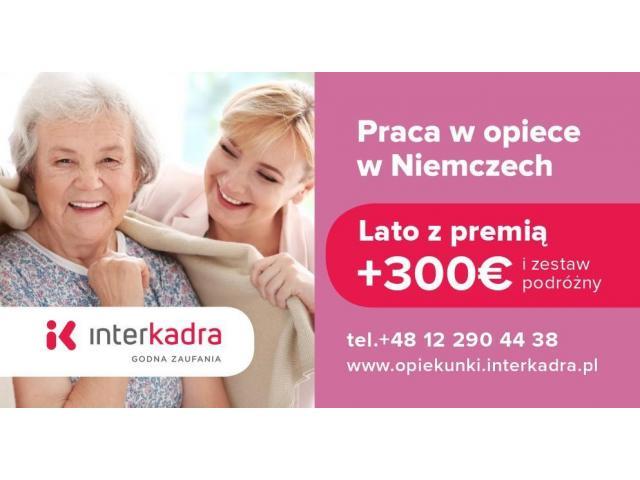 Seniorka (98l.) potrzebuje opieki + premia letnia do 300€