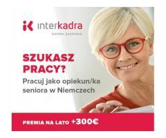 Do opieki Pani Berty (79l.) + premia letnia do 300€ Miejsce pracy — Hövelhof