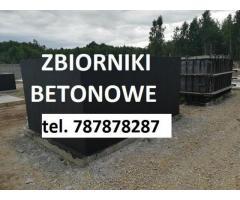Zbiorniki betonowe , szamba betonowe