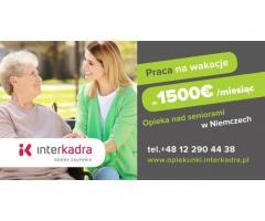 Opieka nad małżeństwem + premia letnia do 300€