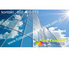 Folie okienne przeciwsłoneczne montaż Warszawa - 602-101-773