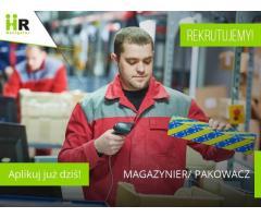 Magazynier - pakowacz