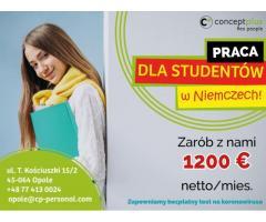 Wakacyjna praca dla studentów, uczniów i maturzystów - Niemcy