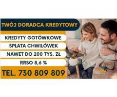 Kredyt Konsolidacyjny do 200 tys pełna spłata chwilówek