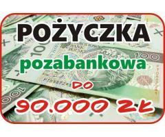 POŻYCZKA do 90.000 zł